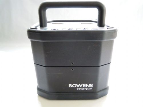 BOWENS TRAVELPAK, BATTERY, CHARGER AND STRAP